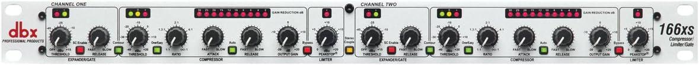 B004NDJRKO dbx 166xs Professional Audio Compressor/Limiter/Gate Dynamic Processor 51UwYF3uX0L