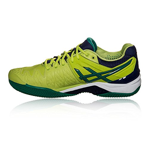 Clay 6 Hombre resolution Blue indigo Tenis Gel Zapatillas Asics Para De Lime pine AwHUqx4
