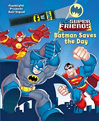 book cover of Batman Saves the Day