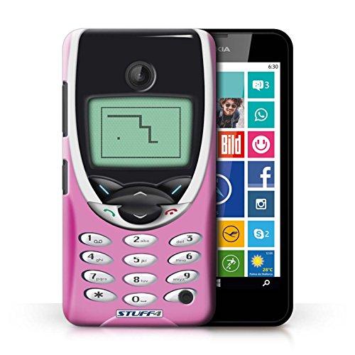 Kobalt® Imprimé Etui / Coque pour Nokia Lumia 635 / Nokia 8210 rose conception / Série Portables rétro