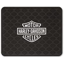 """Harley-Davidson 14"""" x 17"""" Silver Bar & Shield Logo Utility Mat P1010"""