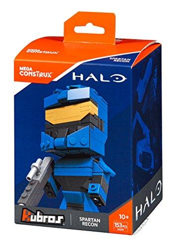 Mega Construx Kubros Halo Blue Spartan Recon Building -
