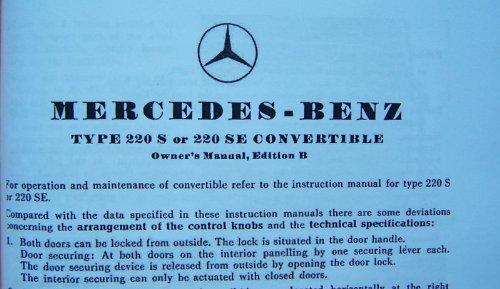1959 Mercedes 220s Wiring Diagram Floor Drain Diagram
