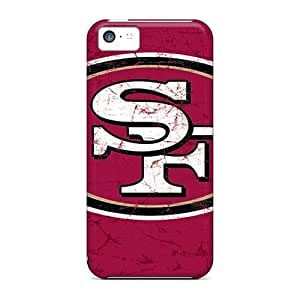 Bumper Hard Phone Covers For Iphone 5c With Support Your Personal Customized Fashion San Francisco 49ers Pattern IanJoeyPatricia