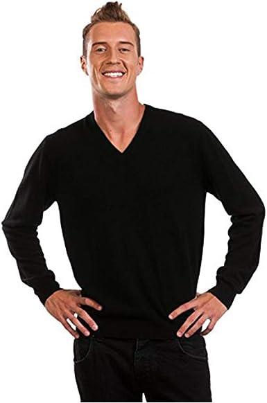 100/% Cashmere Citizen Cashmere V Neck Cardigan Sweaters for Men