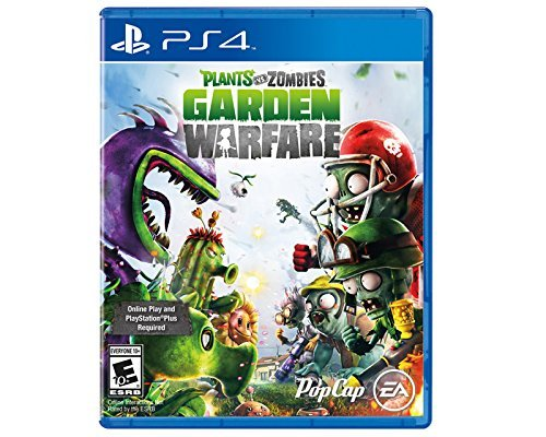 - Plants vs Zombies Garden Warfare(Online Play Required) - PlayStation 4