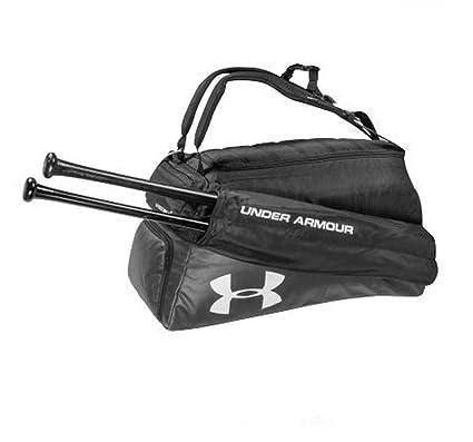 9b8e1a350147 Under Armour Baseball Softball Cleanup 2 Duffel Backpack Black UASB-CON-BK