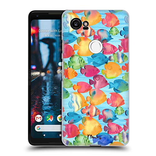 - Official Paul Brent Tropical Fish School Coastal Hard Back Case for Google Pixel 2 XL