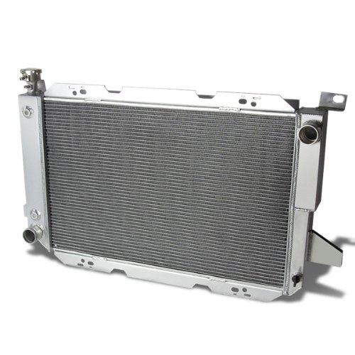 For Ford F-150/F-250/Bronco Full Aluminum 3-Row Racing Radiator - 8 Gen