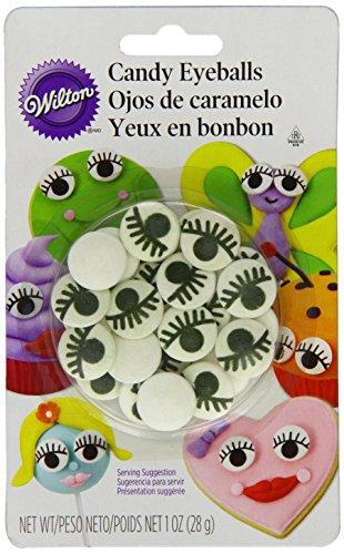 Wilton 710-2223 Icing Candy Decorating Stencil, Eyeball with Eyelash