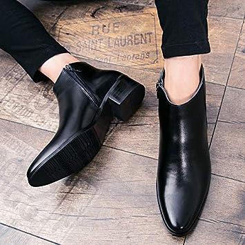 LOVDRAM Zapatos para Hombre Otoño E Invierno Zapatos De