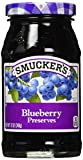 Smucker's Blueberry Preserves, 12 Ounces