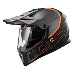 The LS2 pioneer - a new approach to the full face adventure motorcycle helmet category, the pioneer leans heavily on LS2's Rally experience and offers the rider everything they need for serious adventure riding, but for a lot less cash. The s...