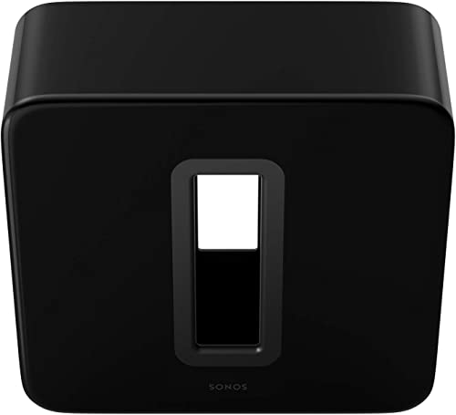 Sonos Sub – The Wireless Subwoofer for Deep Bass – Black