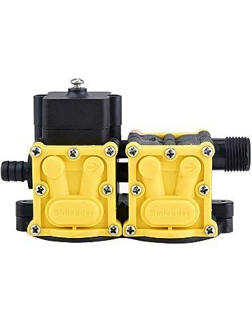 Jadpes Cabeza eléctrica del Motor del rociador de los Accesorios de la Cabeza de la Bomba