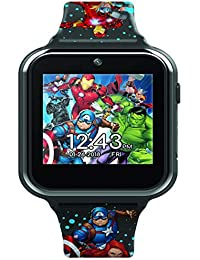 Accutime Avengers Interactive Kids Watch Touch-Screen Smartwatch, Built in Selfie-Camera, Easy-to-Buckle Strap