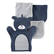 Carter's Baby Boys' Bear 4-pack Washcloths