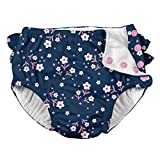 i play. Baby Girls Ruffle Snap Reusable Absorbent