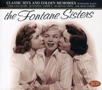 amazon classic hits golden memories fontane sisters ジャズ