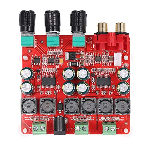 TPA3118 2.1 Channel Digital Stereo Subwoofer Power Amplifier Board Power Amplifier Board 230W+60W DC12V-26V (Best 18650 For Sub Ohm)