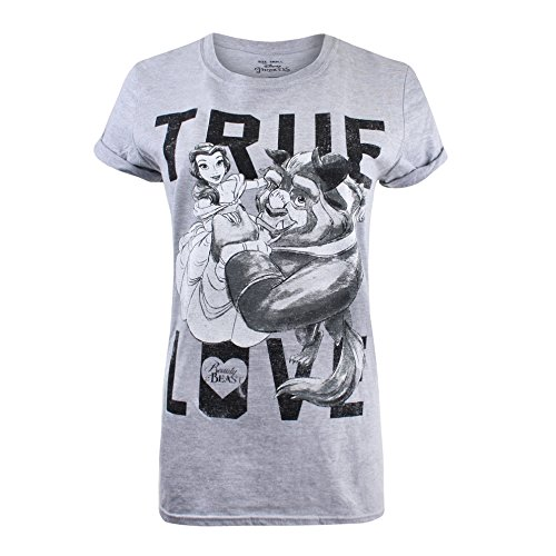 Disney Donna Grigio Spo Grey True Sport Shirt T Love RqzBrR