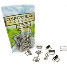 50 - Country Brook Design 1 Inch Key Chain Fob Wristlet Hardware