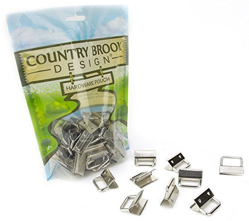 Country Brook Design | 1 Inch Wristlet Key Chain Fob Hardware (50 Pack) ()