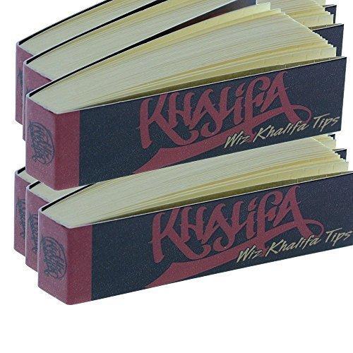 Wiz Khalifa Perforated Hemp Cotton Rolling Paper Tips (6 - Wiz Khalifa Glass