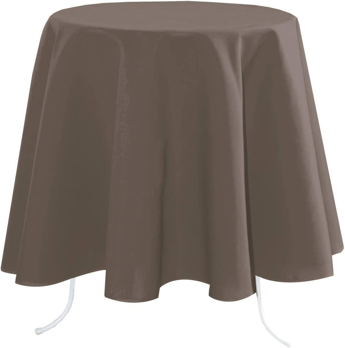 Lovely Casa N154689003 NELSON Nappe Polyester Taupe 300 x 148