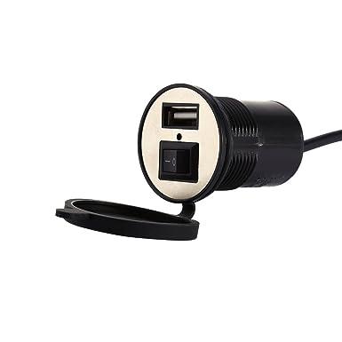 Amazon.com: 12 V Moto Cargador de vehículo eléctrico con ...