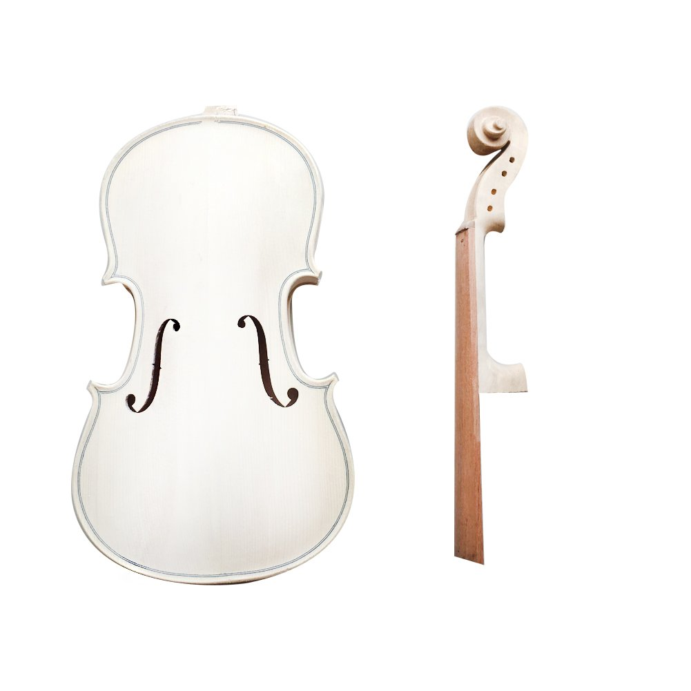 Zimo Make Your Own Full Size 3/4 Natural Acoustic Violin DIY Kit