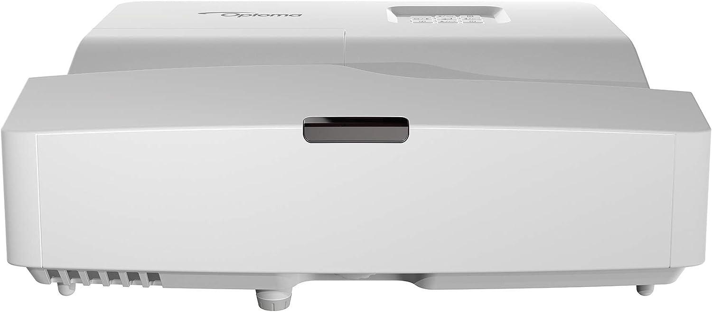 Optoma Hd31ust Dlp Projektor 1080p Kurzdistanz 3400 Lumen 28 000 1 Kontrast 2xhdmi Mhl Vga Silber Heimkino Tv Video