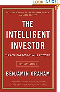 Benjamin Graham (Author), Jason Zweig (Author), Warren E. Buffett (Collaborator) (1841)  Buy new: $24.99$14.99 214 used & newfrom$5.10