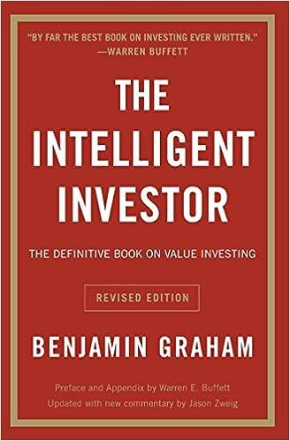 Risultati immagini per the intelligent investor