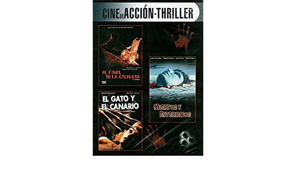 Al final de la escalera / Muertos y enterrados / El gato y el canario: Amazon.es: Cine y Series TV