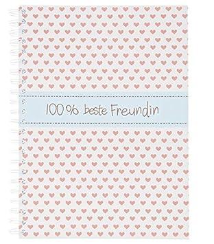 Notizbuch A4 100 Beste Freundin 90 Seiten Schreiben Brief Liste