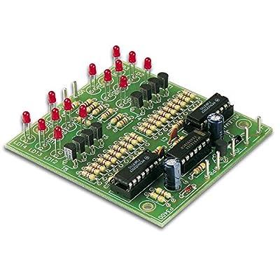 Velleman K3400 Dual Electronic Dice, Multi-Colour: Home Improvement