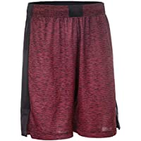 Tarmak SH500 Intermediate Basketball Shorts - Burgundy Black