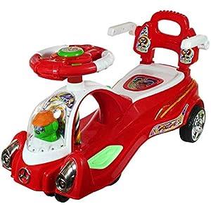 Adelee Plastic Space Swing Car...