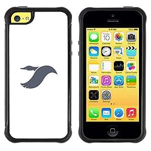 Suave TPU GEL Carcasa Funda Silicona Blando Estuche Caso de protección (para) Apple Iphone 5C / CECELL Phone case / / Dayan flying /
