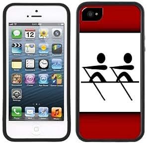 Crew Rowing Handmade iPhone 5 5S Black Case by icecream design