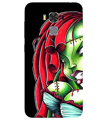 newest collection c6d90 a7e80 For Asus Zenfone 3S Max Printed Back Case; 3D Designer: Amazon.in ...