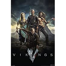 Vikings History Channel Tv Show Poster / Print 24x36 Characters by PosterSuperstars
