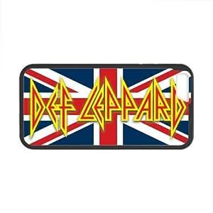 Onshop Custom Def Leppard British Flag Phone Case Laser Technology for iPhone 6 4.7 Inch