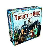 Deals on Ticket To Ride Rails & Sails Board Game