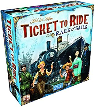 Days of Wonder Ticket To Ride Rails & Sails Board Game