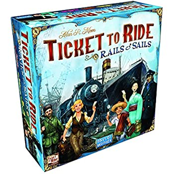 Ticket To Ride Rails & Sails Board Game