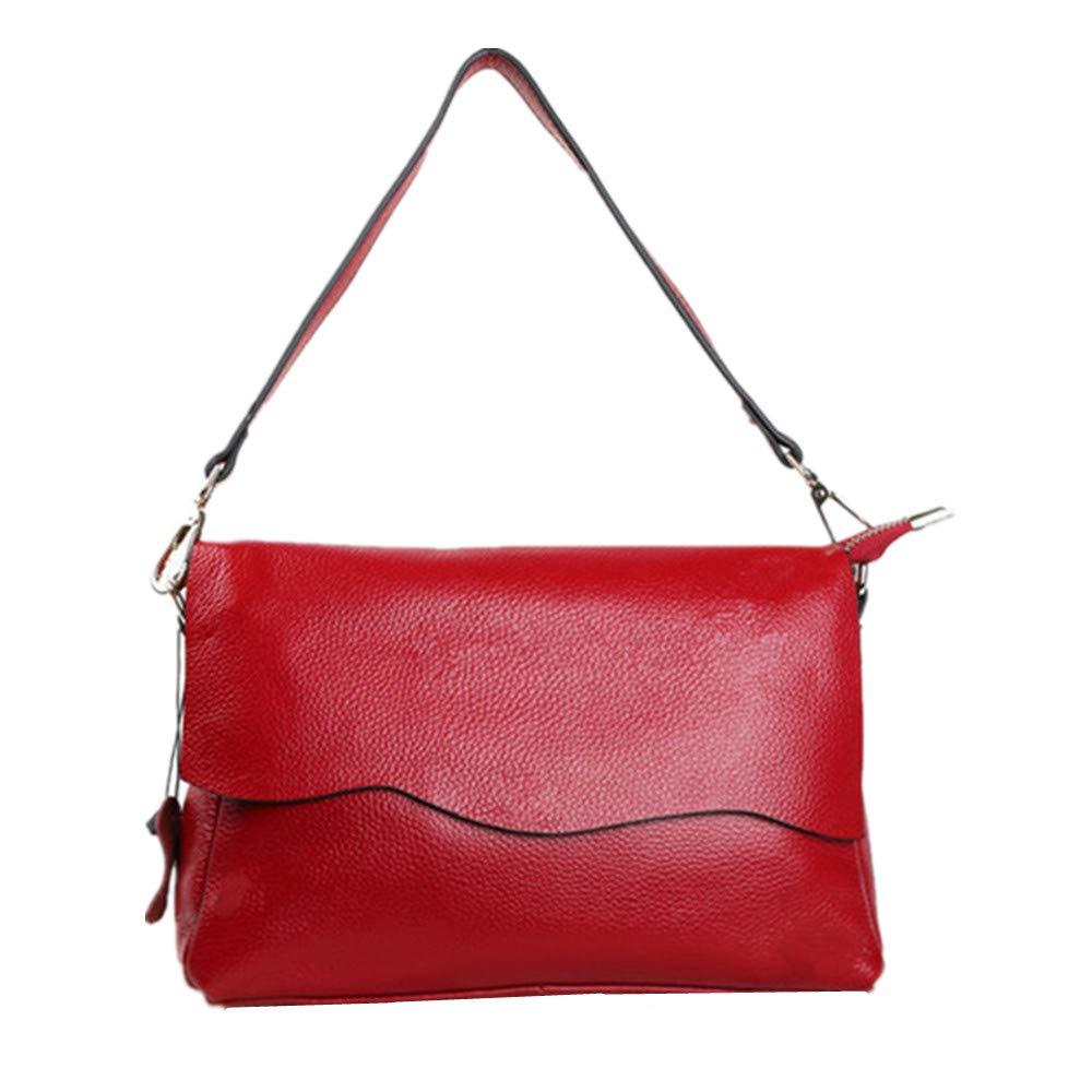 AFCITY Damen Handtasche Kosmetiktasche Kosmetiktasche Kosmetiktasche Ledertasche Dame lässig Messenger Bag einfache Trend Shopping Dating Umhängetasche Shopper Tasche (Farbe   Taro Flour) B07HP84YWQ Schultertaschen 58250e