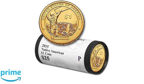 2015-P  Native American Dollar Sacagawea Phila Mint MOHAWK IRONWORKER Kahnawake