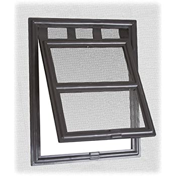 Two-way Screen Door Pet Access Snap Flap  sc 1 st  Amazon.com & Amazon.com : PetSafe Pet Screen Door Bronze : Pet Door For Screen ... pezcame.com